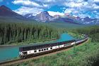 Paketresor med tåg i Kanada